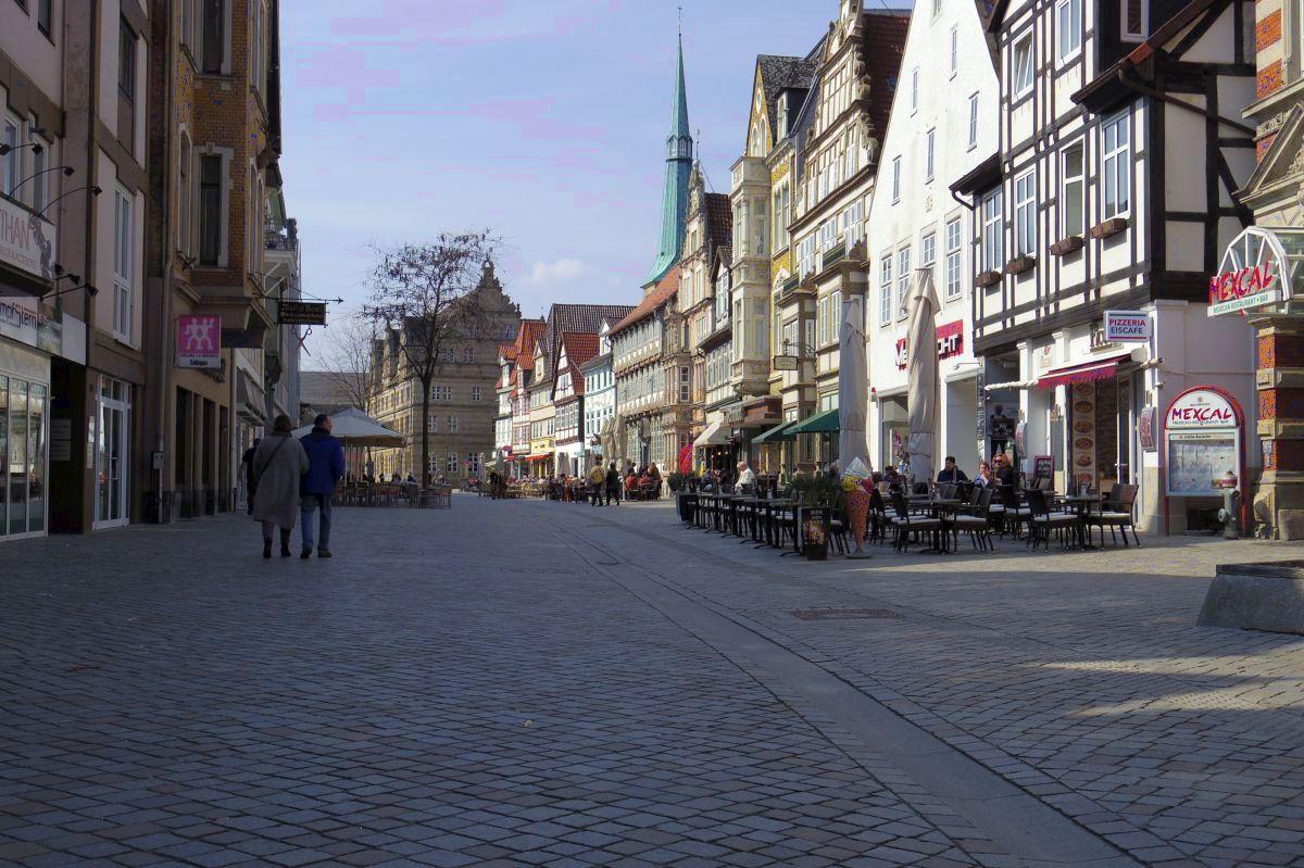 Historische Altstadt in Hamlen
